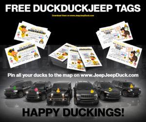 Free DuckDuckJeep TAGS