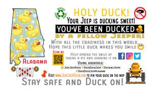 Alabama free DuckDuckJeep tag