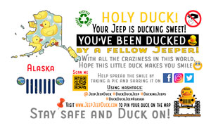 Alaska free DuckDuckJeep tag