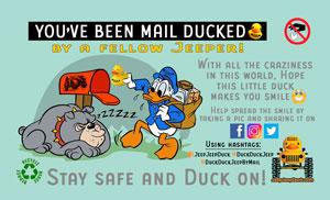 DuckDuckJeep free tag by mail