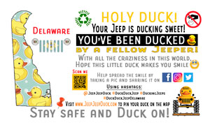 Delaware free DuckDuckJeep tag
