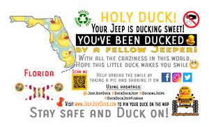 Florida free DuckDuckJeep tag