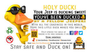 Generic Free DuckDuckJeep Tags