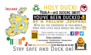Ireland Free DuckDuckJeep Tag