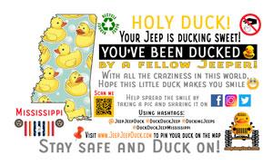 Mississippi free DuckDuckJeep tag