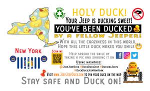 New York free DuckDuckJeep tag