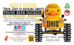 Ohio Free DuckDuckJeep Tag