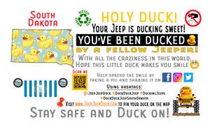 South Dakota Free DuckDuckJeep Tag