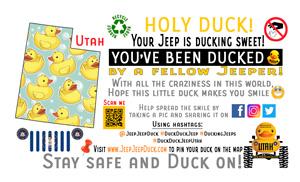 Utah Free DuckDuckJeep Tag