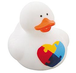 Autism Awareness Rubber Duck