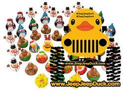Christmas Rubber Ducky DuckDuckJeep