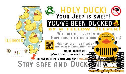 Illinois Free DuckDuckJeep Tag