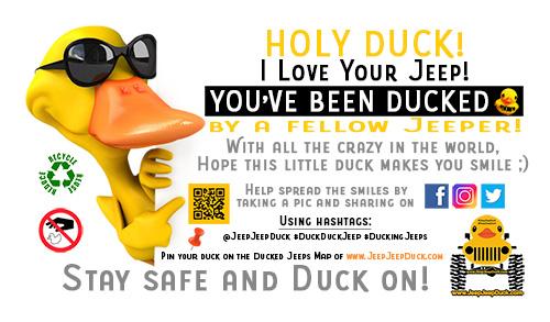 duckduckjeep free tag jeepjeepduck.com