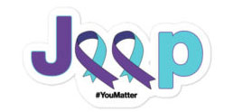 Suicide Prevention Awareness Jeep gifts