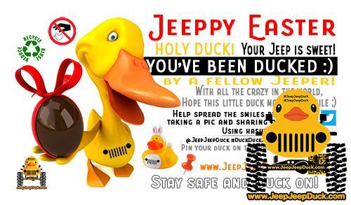 Easter Free DuckDuckJeep Tag