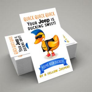 DuckDuckJeep Quack Tag