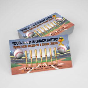 DuckDuckJeep Baseball Tag