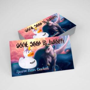 DuckDuckJeep Unicorn Tag